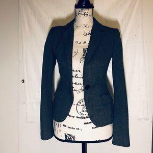Express black and grey blazer jacket